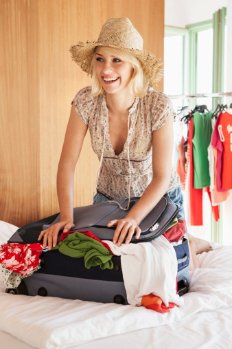 Plan ahead by packing your suitcase early. Photo: Getty