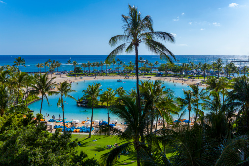 Hawaii stays relatively warm, even in the cold season. Photo: Getty