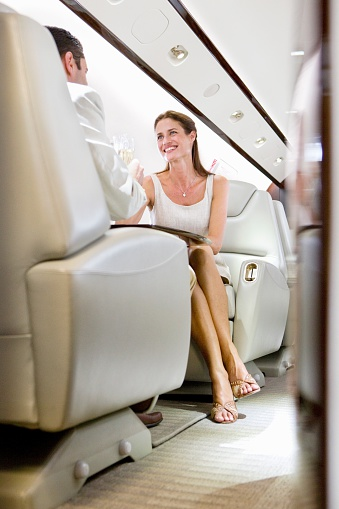 Business class should be peaceful, pleasant and worth your $15,000 fare. Photo: Getty