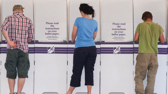 Seven polling booths in the Parkes electorate are set to be abolished.