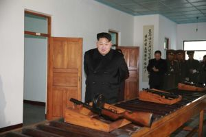 North Korean leader Kim Jong-un visits the Phyongchon Revolutionary Site, which marks the feats of his father and grandfather. Photo: ABC