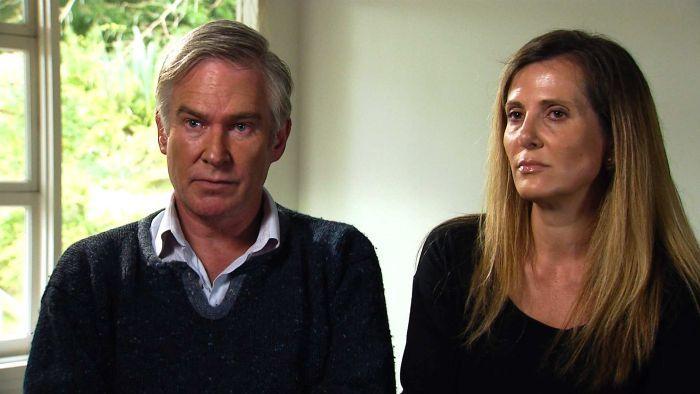 Union whistleblower Kathy Jackson and her partner Michael Lawler. October 16, 2015.