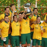 Our finest footballing moment: Asian Cup victory. Photo: Getty