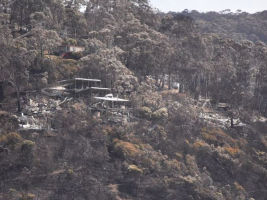 Wye River fire damage