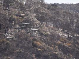 Wye River fire damage
