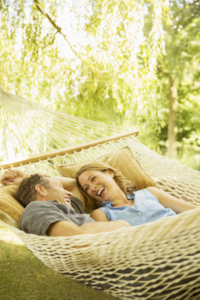 Putting up a hammock will be the best thing you do all summer. Photo: Getty
