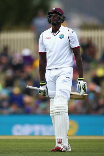 West Indies skipper Jason Holder has a mountain of work to do. Photo: Getty