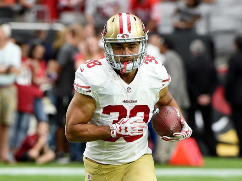 Jarryd Hayne in action 49ers