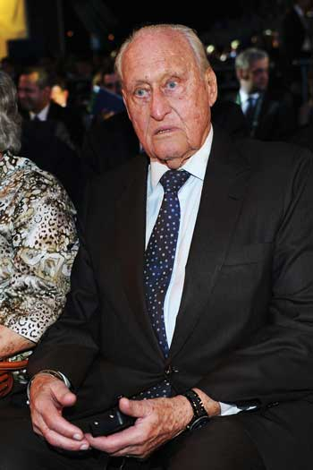 Former FIFA boss Joao Havelange was a mentor of Sepp Blatter. Photo: Getty