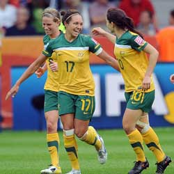 They eventually went down to Japan, but the Matildas gave us a thrilling ride. Photo: Getty