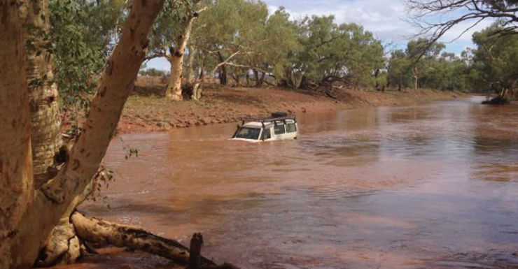 Northern territory floods
