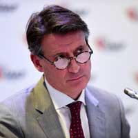 IAAF president Sebastian Coe has a lot of work ahead of him. Photo: Getty