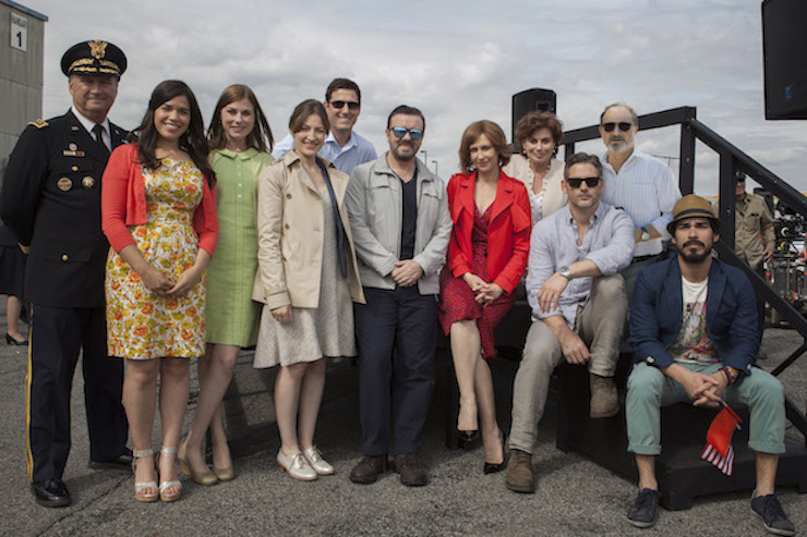 The cast of 'Special Correspondents'.
