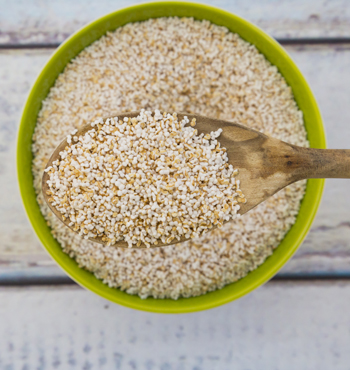 Amaranth can be popped like popcorn.