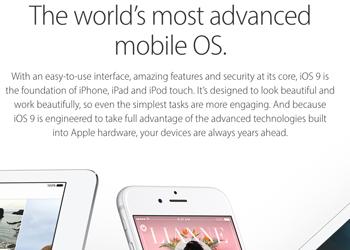 apple claims ios 9