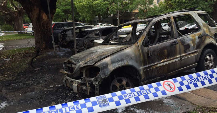 abc car arson attack