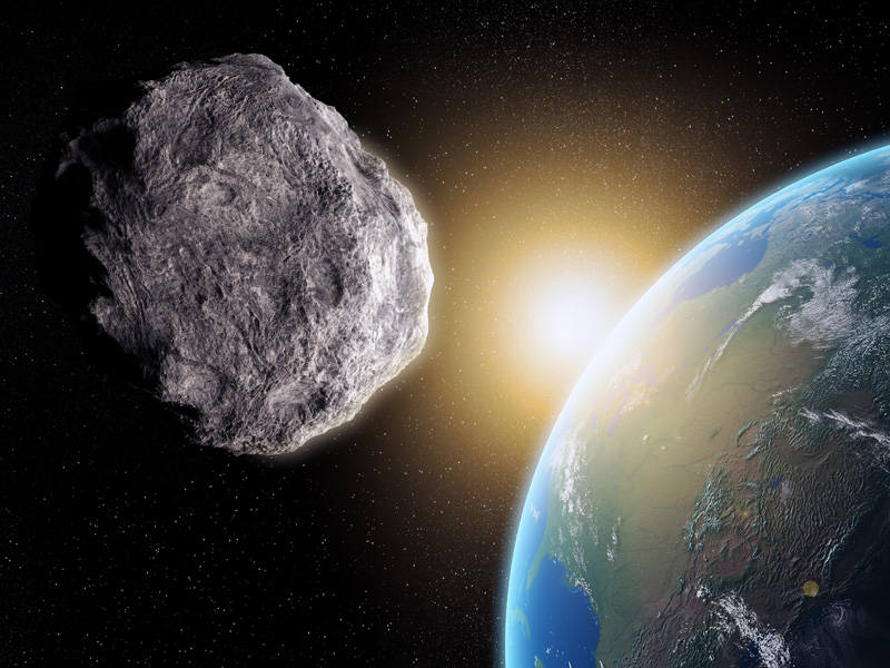 asteroid headed directly to earth - photo #1