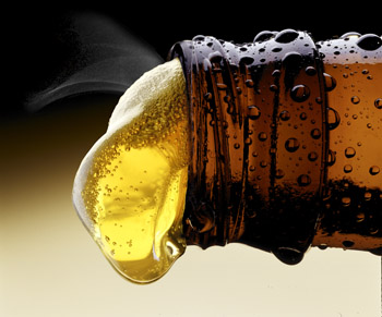 Alcohol has 29 kilojoules per gram, while carbs have 17. Photo: Getty