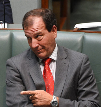 The PM will be grateful for this respite from pesky questions about the Special Minister of State, Mal Brough.