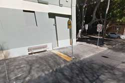 Salisbury Street in Camperdown, where the incident occurred. Photo: Google Maps.