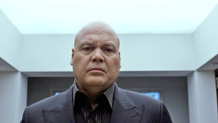 Vincent D'Onofrio as Wilson Fisk.