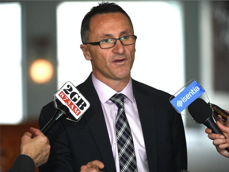 Greens to block gay marriage plebiscite
