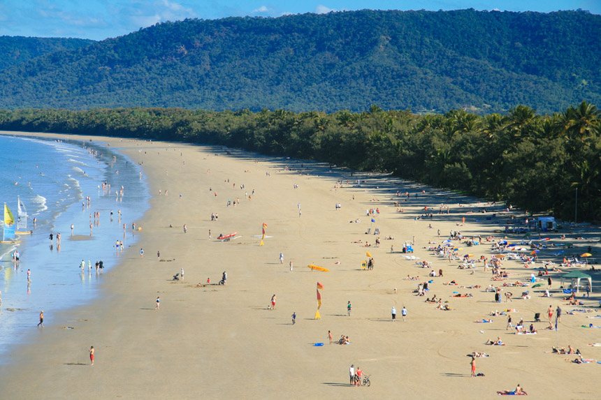 Port Douglas, 4 mile beach