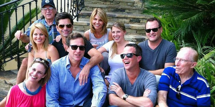 The original 'Full House' cast today.