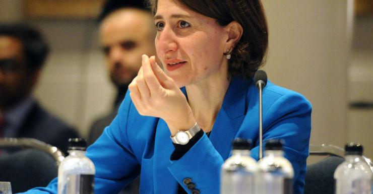 NSW Treasurer Gladys Berejiklian.