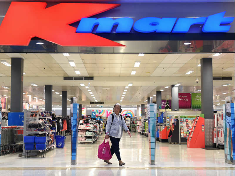 Wesfarmers, which owns Kmart, would not commit to wage increases if taxes were cut.
