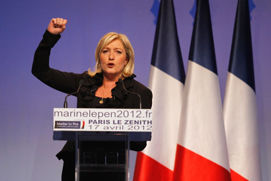 Far-right presidential candidate Marine Le Pen has vowed to quite the EU if elected.