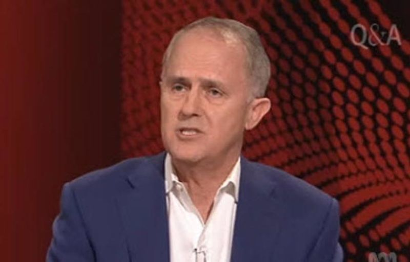 Turnbull was hugely popular on ABC's Q&A.