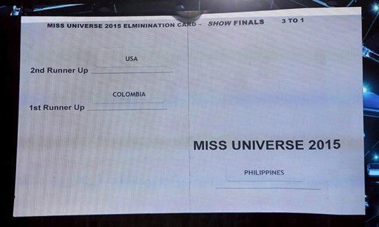 miss universeq