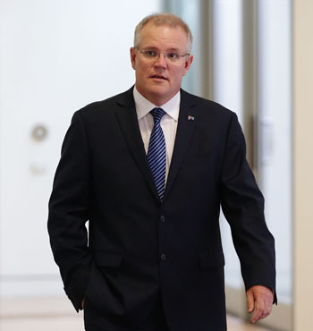 Mr Morrison will hand down the mid-year economic and fiscal outlook on Tuesday.
