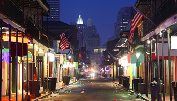 The French Quarter is the oldest neighbourhood in New Orleans. Photo: Getty
