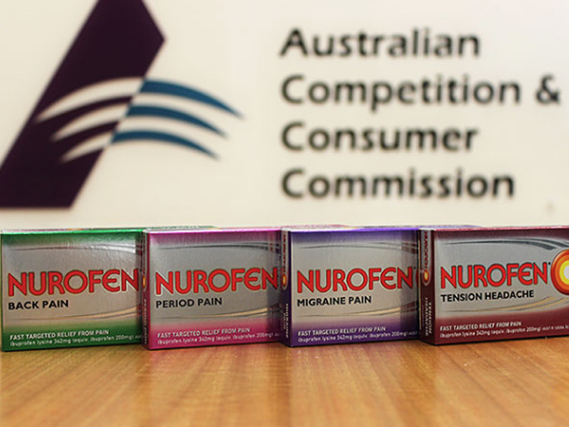Nurofen fine for misleading consumers upped to $6 million