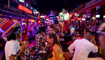 Violence is rife outside the nightclubs of Phuket. Photo: Getty