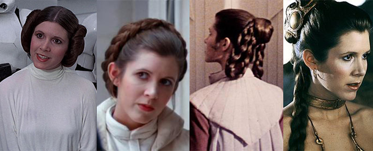 15 Best New Princess Hairstyles: Sorry Princess Leia: The New Star Wars Hairdo To Copy