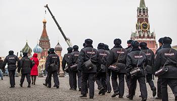 Take precaution in Red Square. Photo: Getty