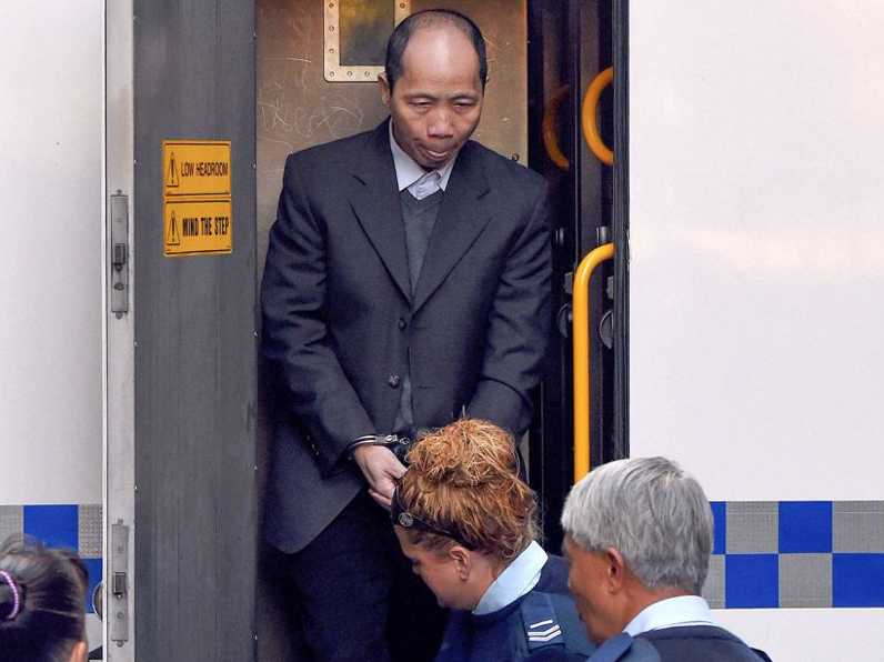 alleged murderer robert xie