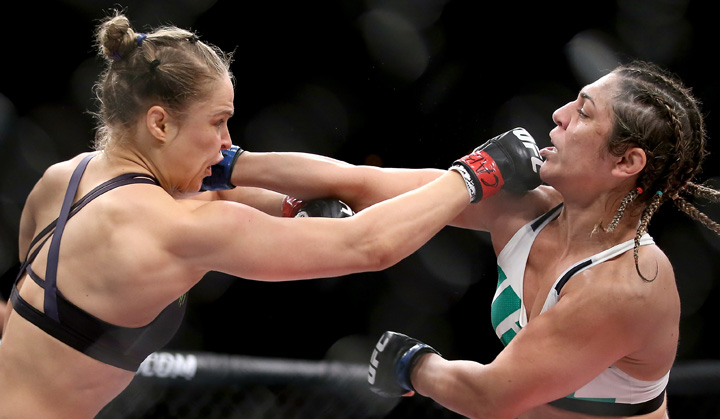 Rousey knocked out Bethe Correia of Brazi in August this year.