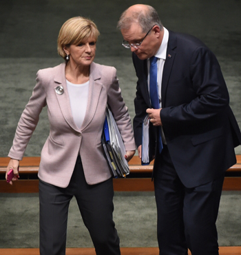 Conservative Liberals moved this week to wreak vengeance on the Treasurer and Foreign Minister.