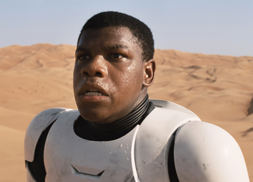 Boyega is expected to be in at least one more film. Photo: StarWars.com