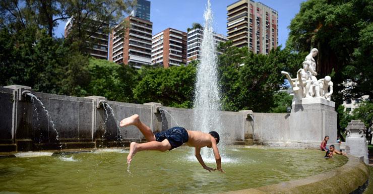 argentina heatwave
