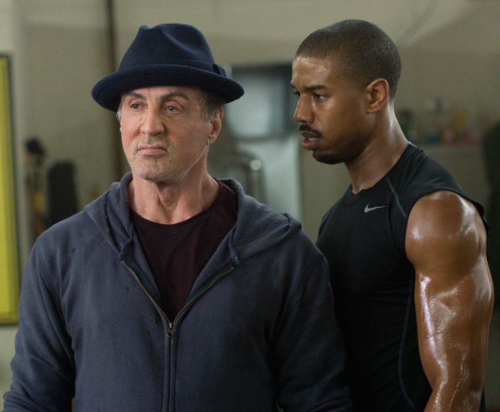 Stallone and Jordan make a formidable team.