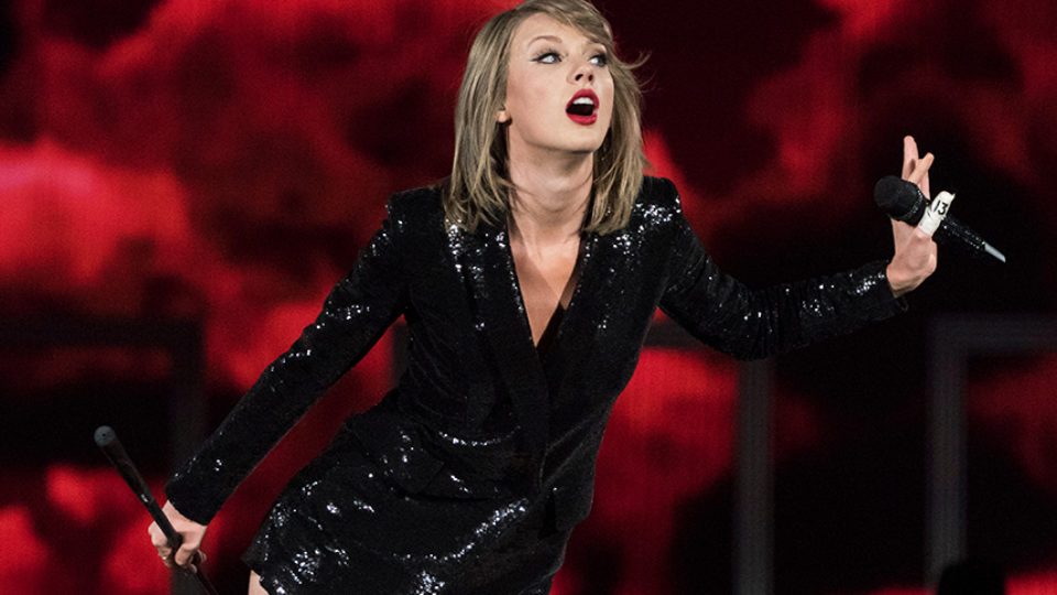Taylor Swift made good on her promise. Photo: Getty.