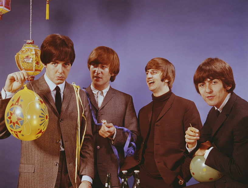 Beatles photo auctioned