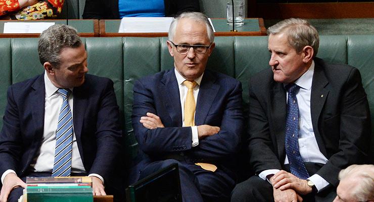 Malcolm Turnbull and Ian Macfarlane