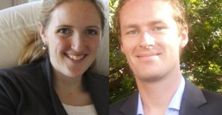 Sydney siege victims Katrina Dawson (left) and Tori Johnson.