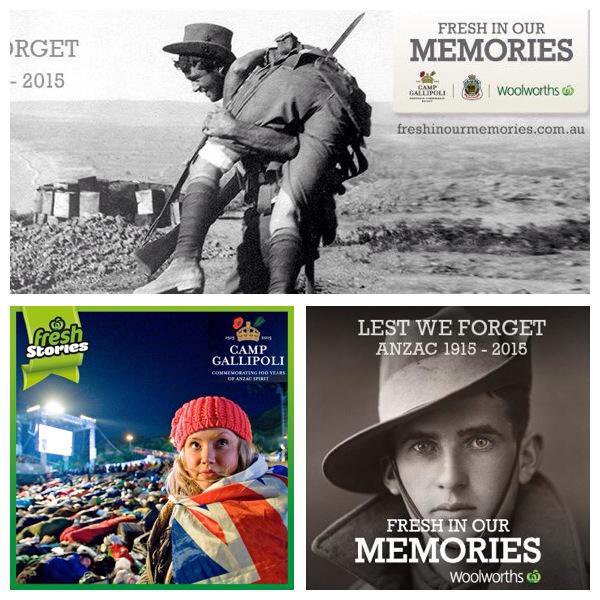 woolworths anzac day